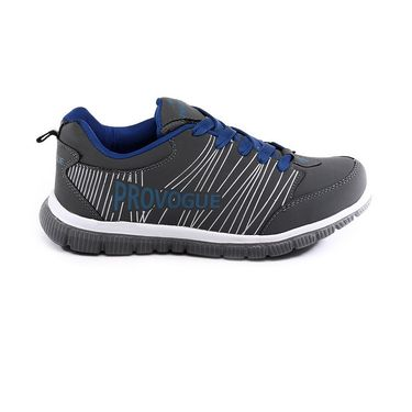 Provogue Grey & Blue Sports Shoes -Pv1063