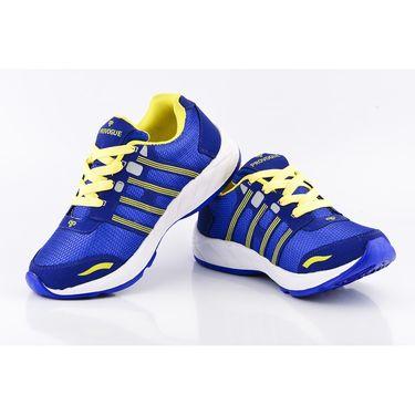 Provogue Mesh Sport Shoes Pv1097-Blue & Yellow-40