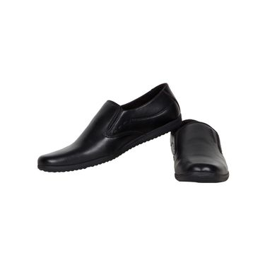 Provogue Black Formal Shoes -yp69