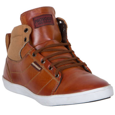 Provogue Tan Sneakers Shoes -yp86
