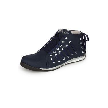 Pede Milan Faux Leather Sports Shoes Philintuf-Blue