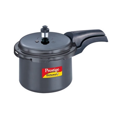 Prestige Deluxe Plus Hard- Anodized Pressure Cooker 7.5 Ltr (Induction Based)