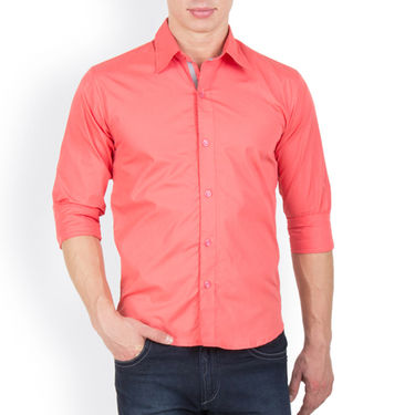 Pack of 3 Incynk Plain Cotton Shirt_qsc56