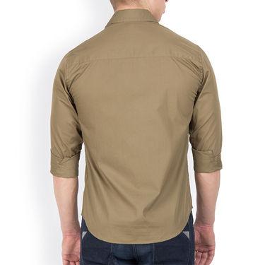 Incynk Plain Cotton Shirt_qss7r - Brown