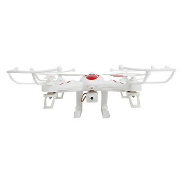 X8 Big Quadcopter with FPV Real Time Video Transmission - White & Red