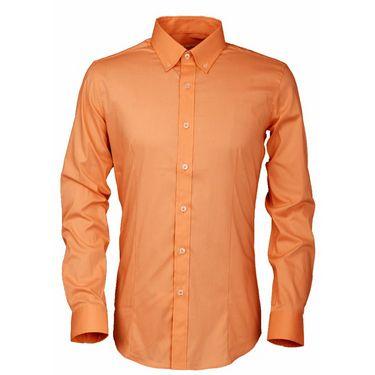Royal Son Slim Fit Cotton Shirt For Men_Rs1o - Orange