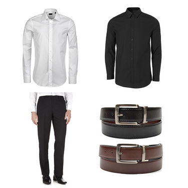 Royal son Mens Essential Accessories Combo With Shirts_RSC003