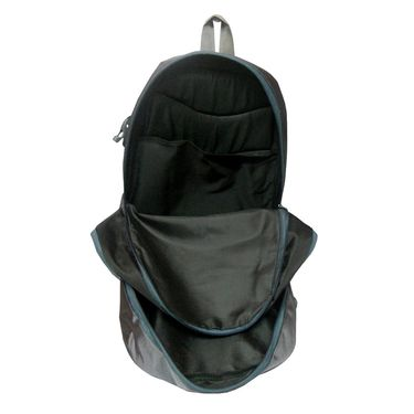 Donex Grey & Black School Backpack -RSC739
