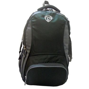 Donex Stylish Colorful Light weight Laptop Backpack in Green & Grey_RSC00882