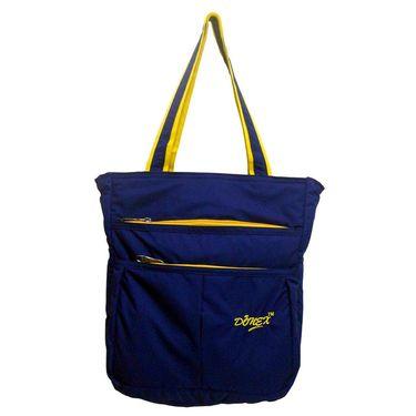 Donex Polyster Soft Shoulder bag Blue_RSC00898