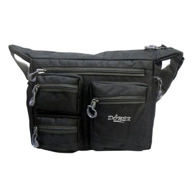 Donex Ruff N Tuff Multipocket Massenger Bag Black_RSC00912