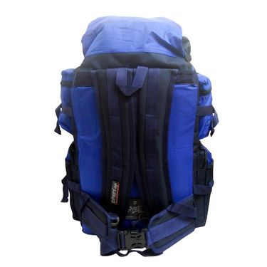 Donex Water Resistant High quality 43 litre Rucksack in Navy and Royal Blue Color_RSC00940