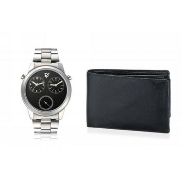 Combo of Rico Sordi Analog Wrist Watch + Wallet_RSD24_WW