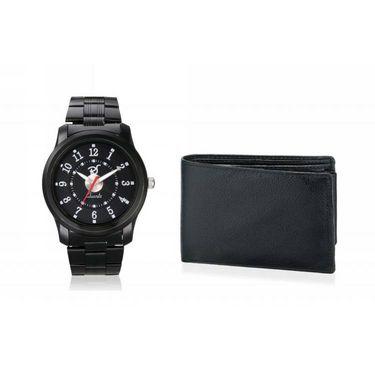Combo of Rico Sordi Analog Wrist Watch + Wallet_RSD27_WW