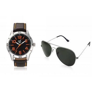 Combo of Rico Sordi Analog Wrist Watch + Sunglasses_RSD30_WSG
