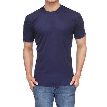 Pack of 4 Rico Sordi Half Sleeves Plain Tshirts_RSD762