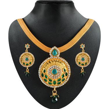 Rachna 1 Gram Gold Plated 12 Jewellery Set