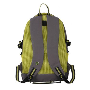 Be for Bag Poly Canvas Backpack Grey -Roadmaster