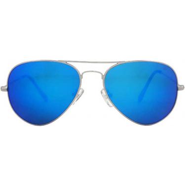 Royal Son Mercury Aviator Sunglasses - Blue