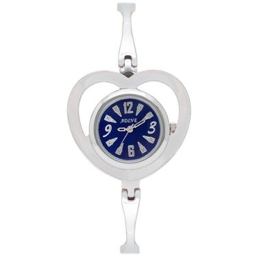 Adine Analog Round Dial Wrist Watch For Women_Rsw08 - Blue