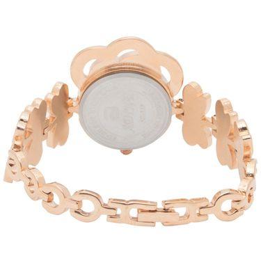 Adine Analog Round Dial Wrist Watch For Women_Rsw13 - White
