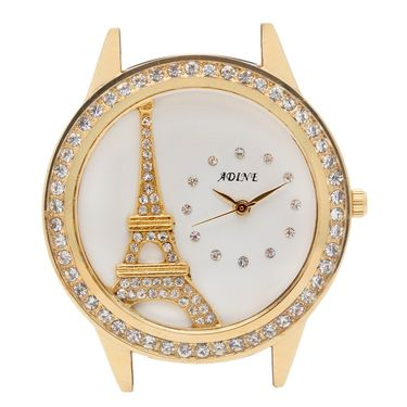 Adine Analog Round Dial Wrist Watch For Women_Rsw17 - White