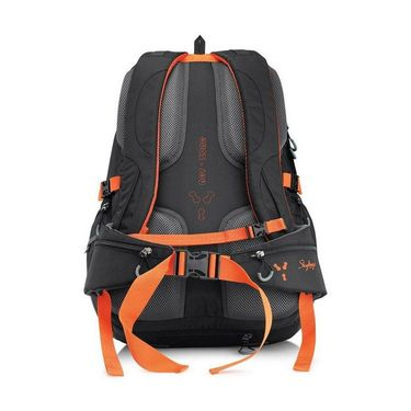 Skybags Black Laptop Backpack_Highland 50 black