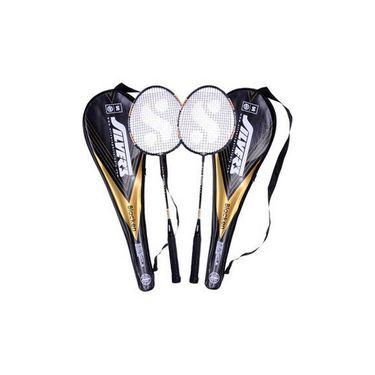 Silver's (Size-G4) Blacken Badminton Kit - Multicolor