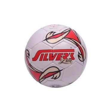 Silver's (Size-5) Lim Silfblim Football - White