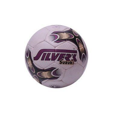 Silver's (Size-5) Suzuki Silfbsuzuki Football - White