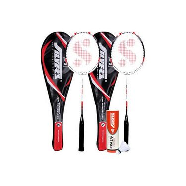 Silver's Pack Of 1 Ion Badminton Combo - Multicolor