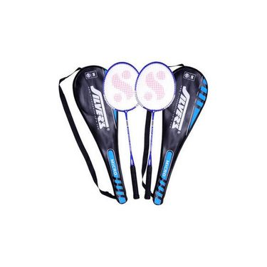 Silver's Pack of 1 Micro Silmicrocombo2 Badminton Kit - Multicolor