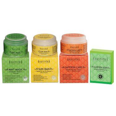 Fresh And Soft Skin Combo - Aloevera Soap