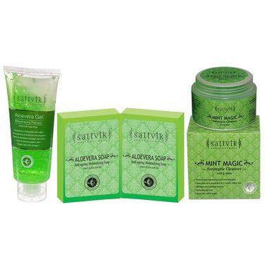 Repair Daily Skin Damage  - Aloevera Soap  (Set Of 2)