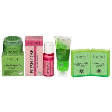 Refresh & Calming Effect Combo  - Aloevera Soap  (Set Of 2)