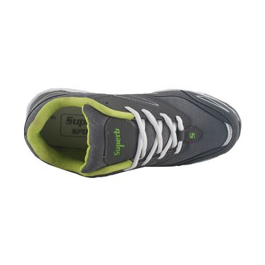 Branded Mesh Sports Shoes Sup5038 -Grey