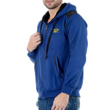 Blended Cotton Full Sleeves Sweatshirt_Swdl28 - Blue