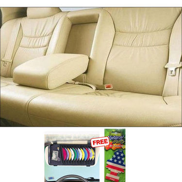 Samsun Car Seat Cover for Maruti Suzuki Ritz - Beige