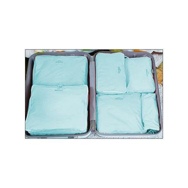 Set of 5 Mangalam Luggage Organizer - Blue
