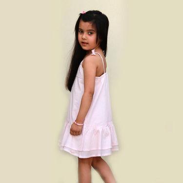 Shoppertree Baby Double Laye Dress - Pink