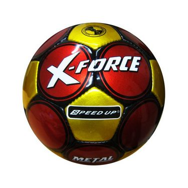 Speed Up X-Force Metal Football - Red & Yellow