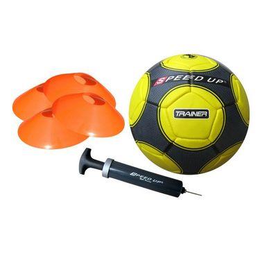 Speed Up 6 Pcs Complete Football Training Set - Yellow