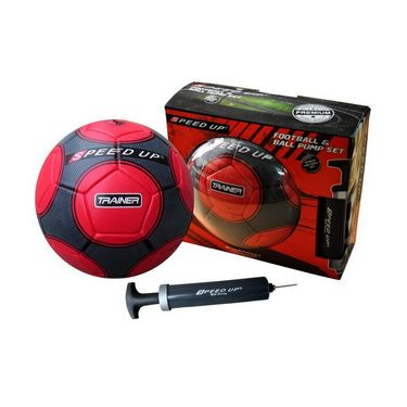 Speed Up 2 Pcs Football Set - Red