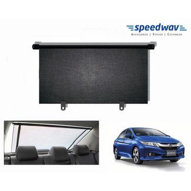 Speedwav Car Rear Window Roller Sunshade 100cm Black- Honda City 2014