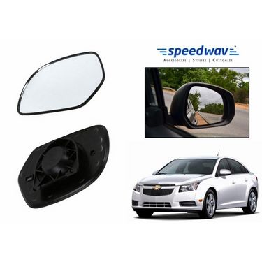 Speedwav Car Rear View Side Mirror Glass RIGHT-Chevrolet Cruze