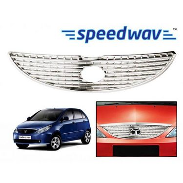 Speedwav Tata Indica (NEW) Front Chrome Grill Covers