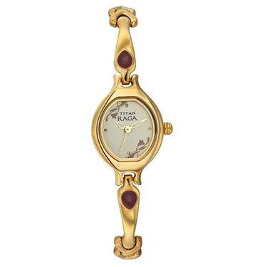 Titan Raga Stylish Watch For Women_T01 - Silver