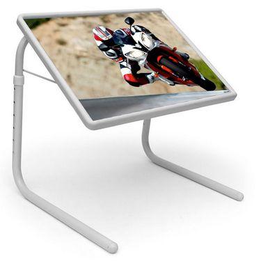 Shoper52 Designer Portable Adjustable Dinner Cum Laptop Tray Table-TABLE039