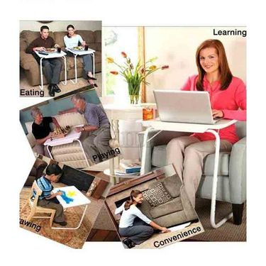 Shoper52 Designer Portable Adjustable Dinner Cum Laptop Tray Table-TABLE082