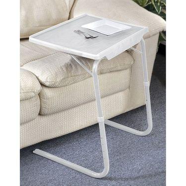 Shoper52 Designer Portable Adjustable Dinner Cum Laptop Tray Table-TABLE093